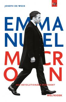 Cover Emmanuel Macron by Joseph de Weck