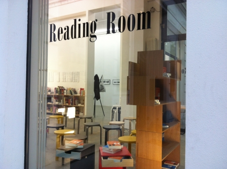 Reading Room, Potsdamer Strasse, Berlin